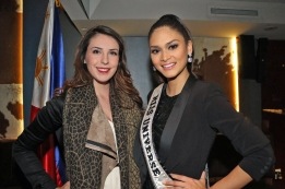 Me and Pia Wurtzbach