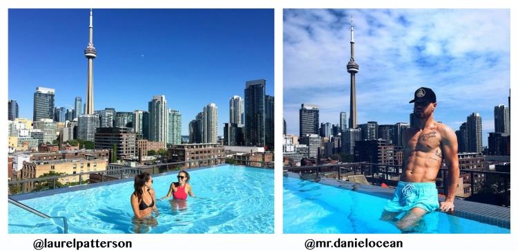 Toronto Condos With Rooftop Pools Views Of Toronto