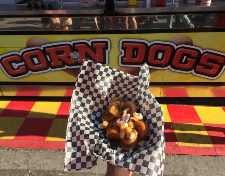 corndog poutine